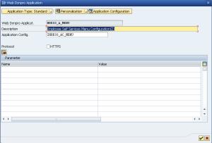 Рисунок 21. Запуск Web Dynpro приложения из backend системы