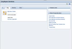 Рисунок 22. Приложение HRESS_A_MENU с пользовательской конфигурацией