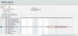 Рисунок 6. Определение динамического выбора даты для поля селекционного экрана
