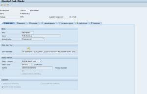 Рисунок 1. Задача TS01000136 потока операций WS01000089